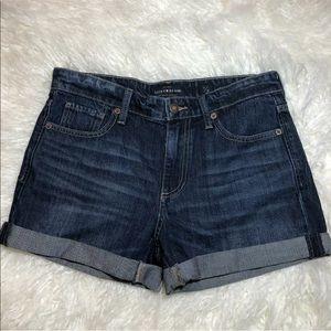 NWOT Lucky Brand The Boyfriend Jean Shorts 2 26